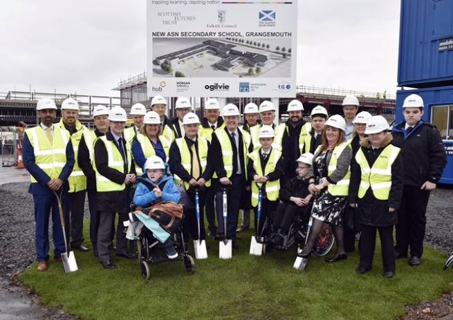 Ogilvie begin work on new school in Grangemouth