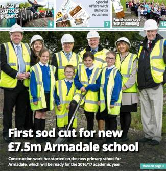 £7.5m Armadale Primary School On Track with Ogilvie
