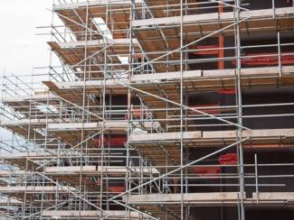 Scottish construction workload rise