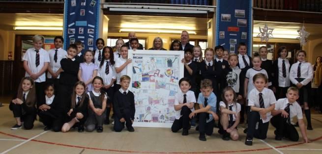 Ogilvie showcases Clepington Primary art
