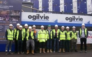Kelvinhaugh Student Accommodation - Glasgow College Student Visit