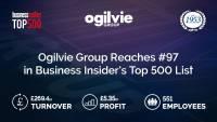 Ogilvie climbs Business Insider's Top 500 List