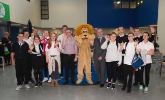Carrongrange pupils raise over £600 for local zoo