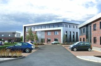 Construction work starts at Drumpellier Business Park
