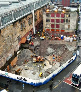 Motel One Glasgow Progress
