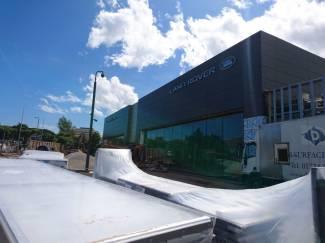 New Peter Vardy Jaguar Land Rover Retailer Building in Aberdeen