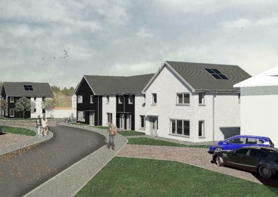 Ogilvie starts works on £8m Cardenden homes project