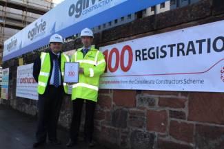 Ogilvie reaches Considerate Constructor milestone