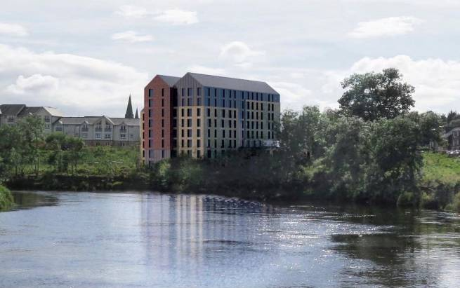 Ogilvie starts work on new Forthside Student Accommodation