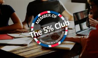 Ogilvie commit to apprentices and graduates. Now members of the 5% Club